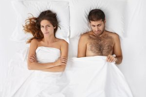 sexually disappointed couple