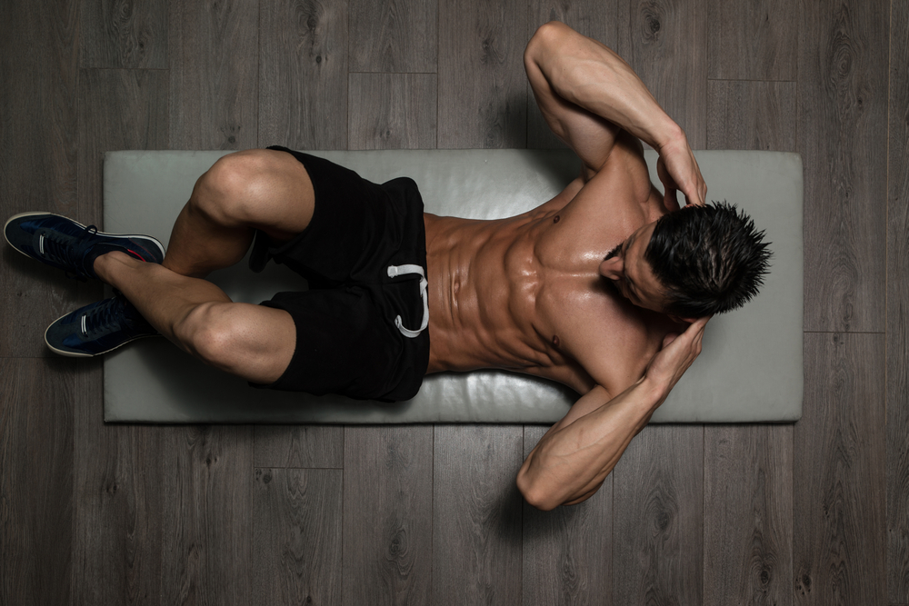crunches for a fit body